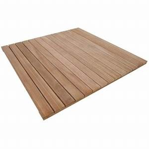 dalle bois 100x100 With dalle bois terrasse 100x100