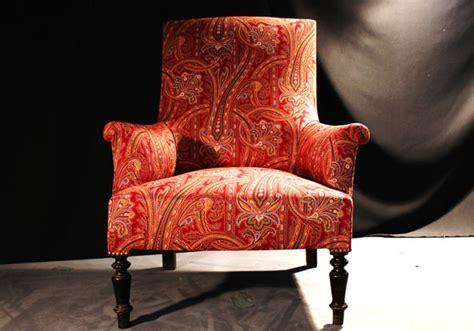 tissus canape fauteuil de style anglais d 39 époque napoléon iii