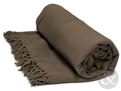 Settee Throw Overs by Soft 100 Cotton Honey Comb Throw With Tasselled Edge