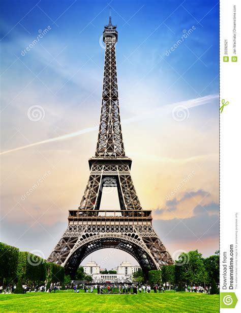 paris tower stock image image