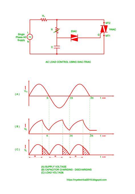 Light Dimmer Circuit Fan Regulator Load