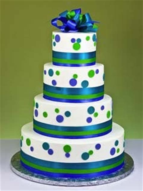 wedding cakes pictures blue  green wedding cakes