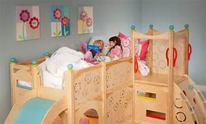 lit enfant pour la chambre fille ou garcon en 41 exemples With chambre bébé design avec sac à fleurs