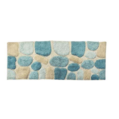 bathroom rug runner chesapeake merchandising 24 in x 60 in pebbles bath rug