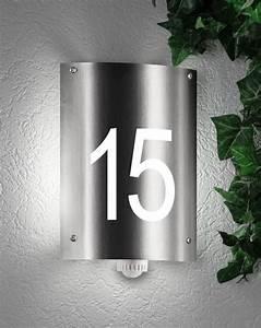 Außenleuchte Mit Hausnummer : hausnummernleuchte au enleuchte wandlampe mit hausnummer cmd 32 hn aqua andra mit ~ Buech-reservation.com Haus und Dekorationen