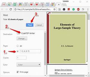 Delete Pages fr... Cutepdf Writer