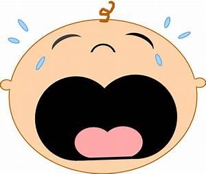Baby Crying 2 Clip Art at Clker.com - vector clip art ...