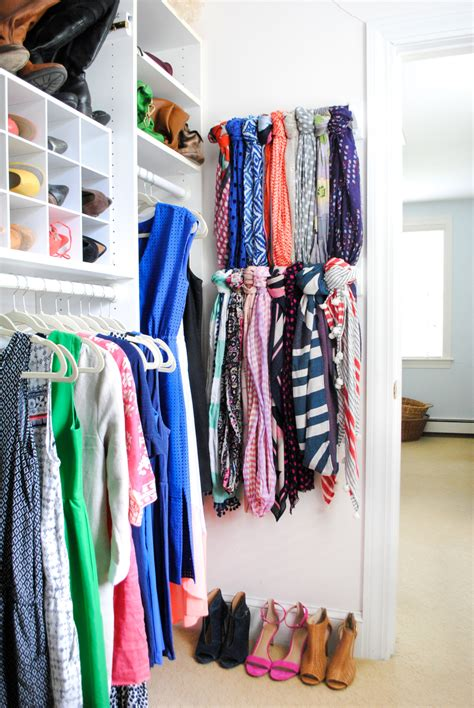 How To Organize Scarves In Your Closet by Scarf Hanger Closet Organization Ideas The Chronicles