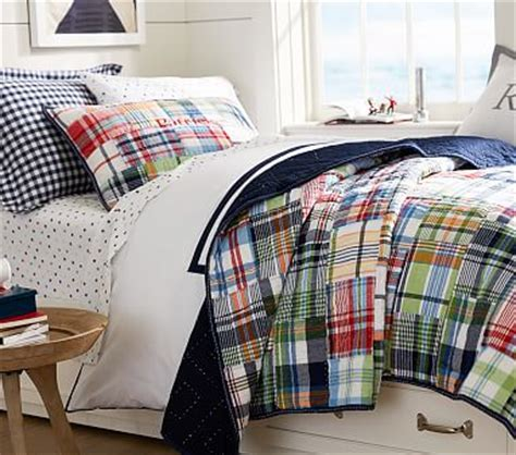 Madras Duvet by Madras Quilted Bedding Pottery Barn
