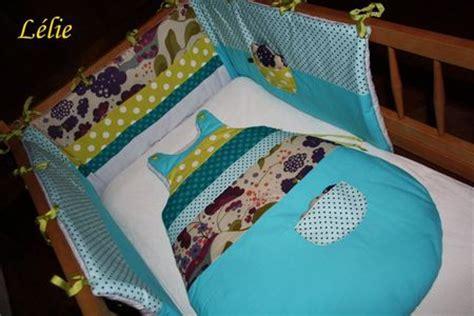 modele couture tour de lit bebe