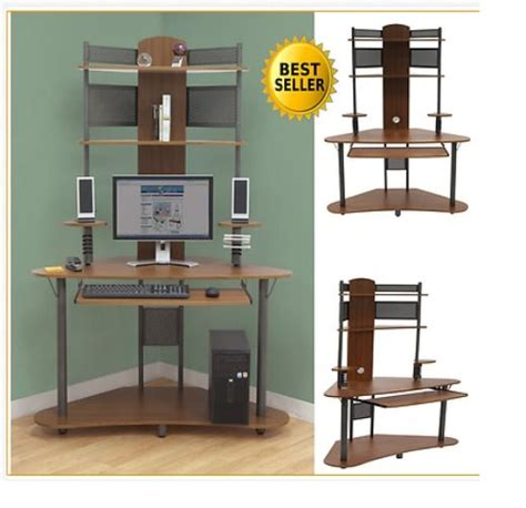 computer desk with tower storage 17 best ideas about computer desk with hutch on