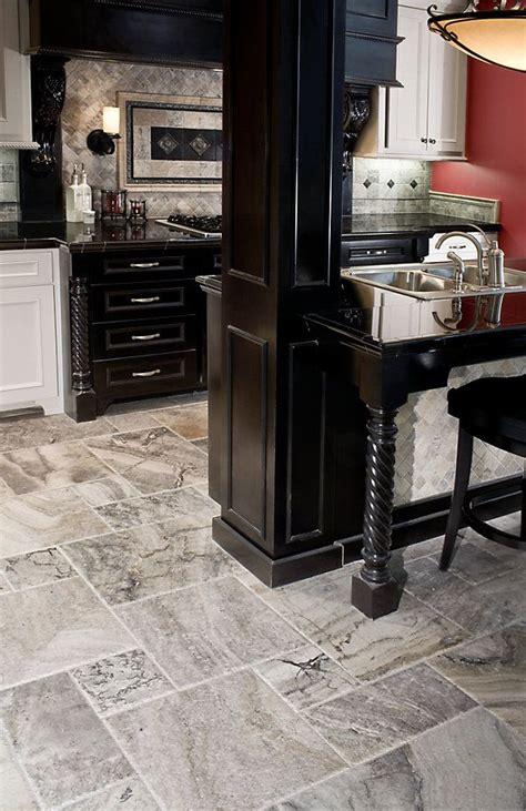 Kitchen Floor Tile Prices by Silver Travertine Floor Home Ideas Kitchen Flooring