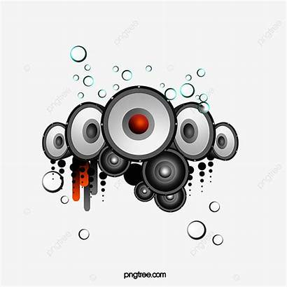 Speakers Clipart Som Speaker Transparent Embellishment Psd