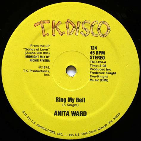 ward ring my bell ward ring my bell vinyl 12 quot 45 rpm discogs