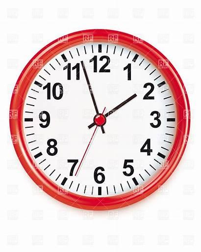 Round Clipart Clock Analog Clipartpanda Eps Vector