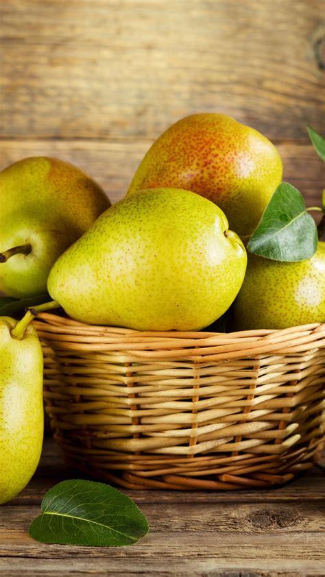 wallpaper pear fruit  food