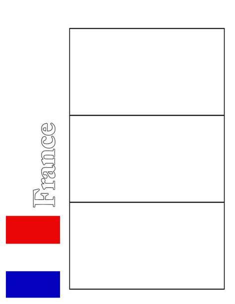 coloriage drapeau france  colorier dessin gratuit  imprimer