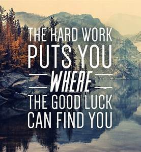 Good Luck: Words of Wisdom on Being Lucky - Intent Blog