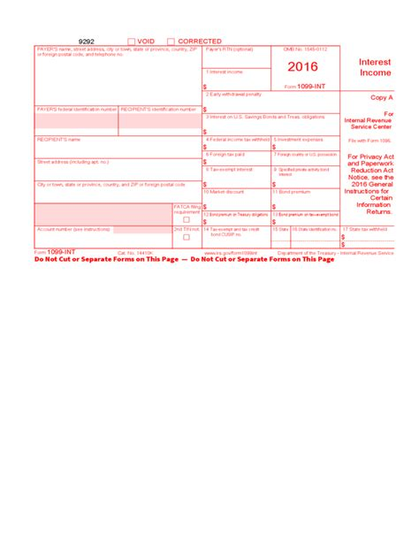 2012 form 1099 misc fillable tax information for businesses internal revenue service