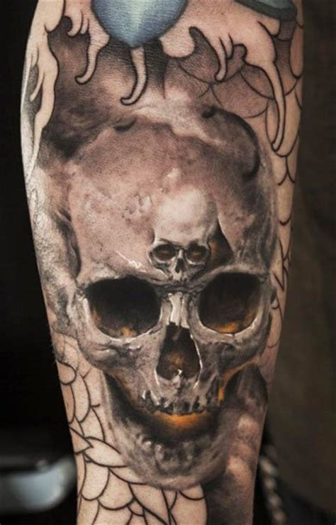 watercolor skull tattoo designs pretty designs