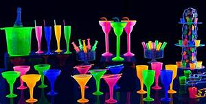 Black Light Party Supplies - Glow in the Dark Party Ideas