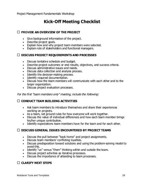 project management sample