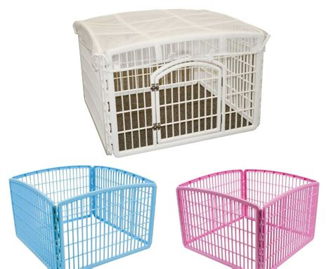 dog play  iris indoor outdoor puppy cage exercise