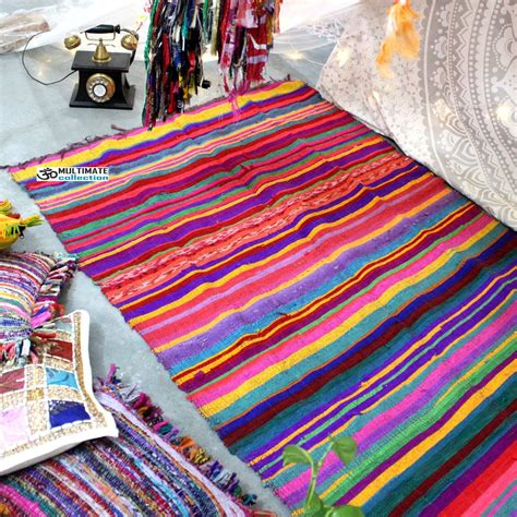 Where To Find Inexpensive Rugs by Buy Cheap Floor Area Rug Woven Chindi Rugs At