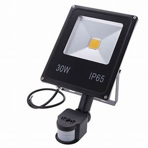 Led fir flood lights motion sensor spot light outdoor