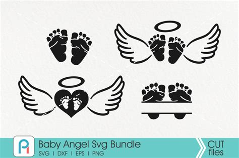 I find the standard grip green mat a pain to clean. Baby Angel Svg Bundle By Pinoyart   TheHungryJPEG.com