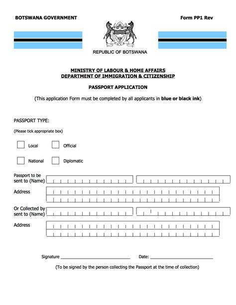 kenyan passport renewal form new application form for kenyan passport renewal