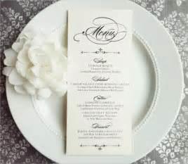 wedding menu wedding menu template 24 in pdf psd word vector illustration eps