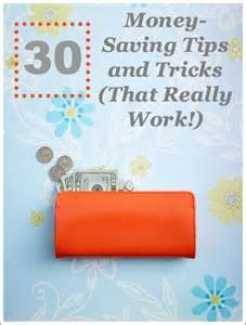 Money Saving Tips and Tricks