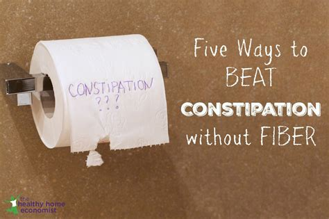 5 Strategies To Combat Constipation Naturally The