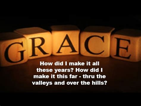 Luther Barnes God's Grace Lyrics Chords