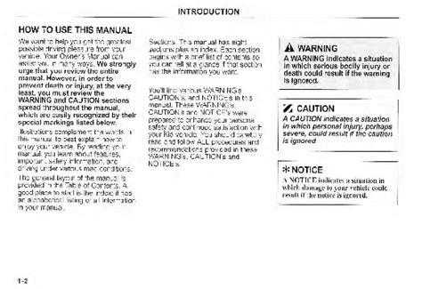 car repair manual download 2003 kia sedona lane departure warning 2003 kia sedona owners manual