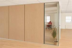 Cloisons Mobiles : cloisons de bureau cloisons mobiles en bois cloisons ~ Melissatoandfro.com Idées de Décoration