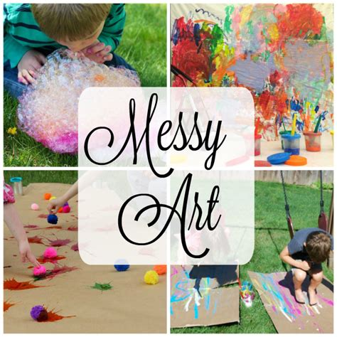 activities for how wee learn 214 | Messy art activities for kids