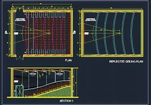 Seminar Conference Hall Design Plan n Design