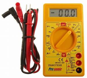 Basic Scheme Of Digital Multimeter