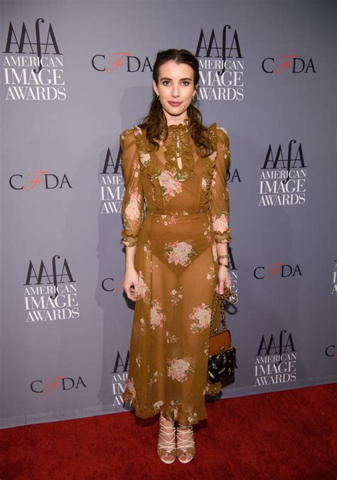 Emma Roberts Sheer Dress - Sheer Dress Lookbook - StyleBistro
