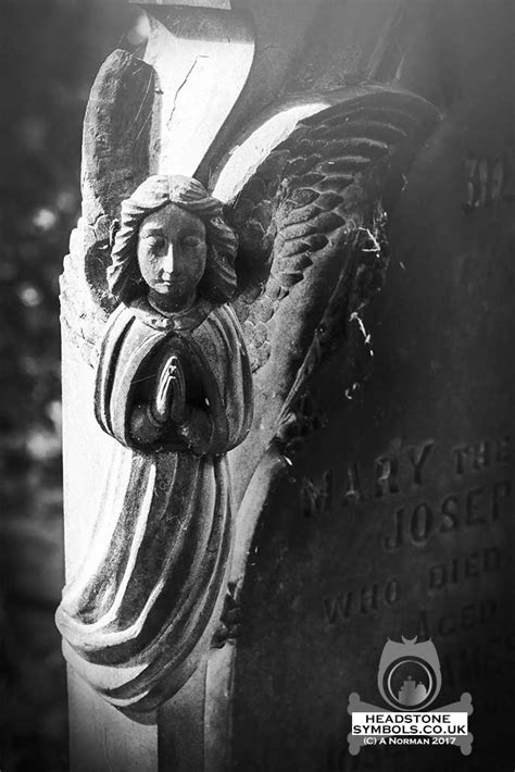 Cemetery Angels Praying | Headstone Symbols and Meanings