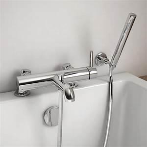 Mitigeur Sur Baignoire : robinet mitigeur de baignoire sur plage century ~ Edinachiropracticcenter.com Idées de Décoration