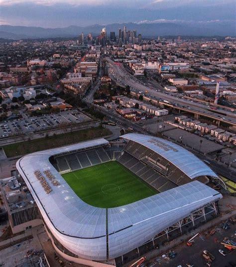 Lafc's Banc Of California Stadium Opens  North Area