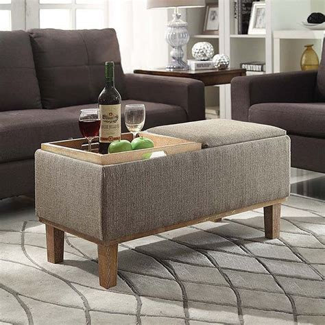 storage ottoman coffee table 25 best ideas about storage ottoman coffee table on