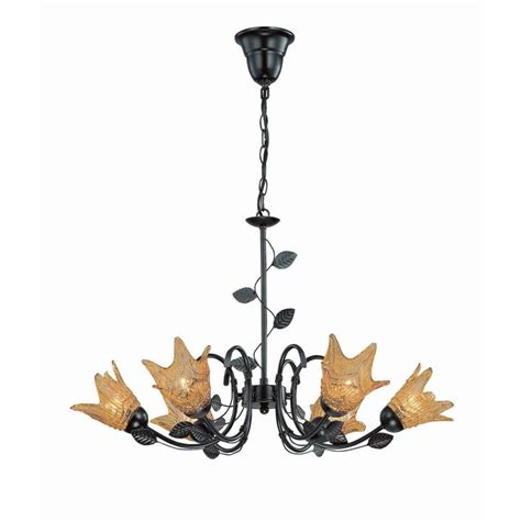 ls sconces paint illumine 6 light bronze chandelier with glass cli ls