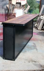 Meuble Bar Industriel : comptoir bar sur mesure industriel bar pinterest comptoir bar comptoir et sur mesure ~ Teatrodelosmanantiales.com Idées de Décoration