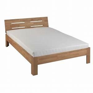 200 X 200 Cm Bett : bett oskar 200 x 200 cm eiche ge lt d nisches bettenlager ~ Indierocktalk.com Haus und Dekorationen