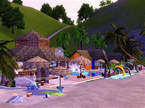 "My Sims 3 Blog Bar Beach ""the Caribbean Night""by Tanitas8"