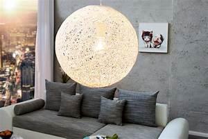 Designermöbel Riess Ambiente Halstenbek : stylische h ngeleuchte cocoon m in wei 35cm lampe riess ~ Bigdaddyawards.com Haus und Dekorationen
